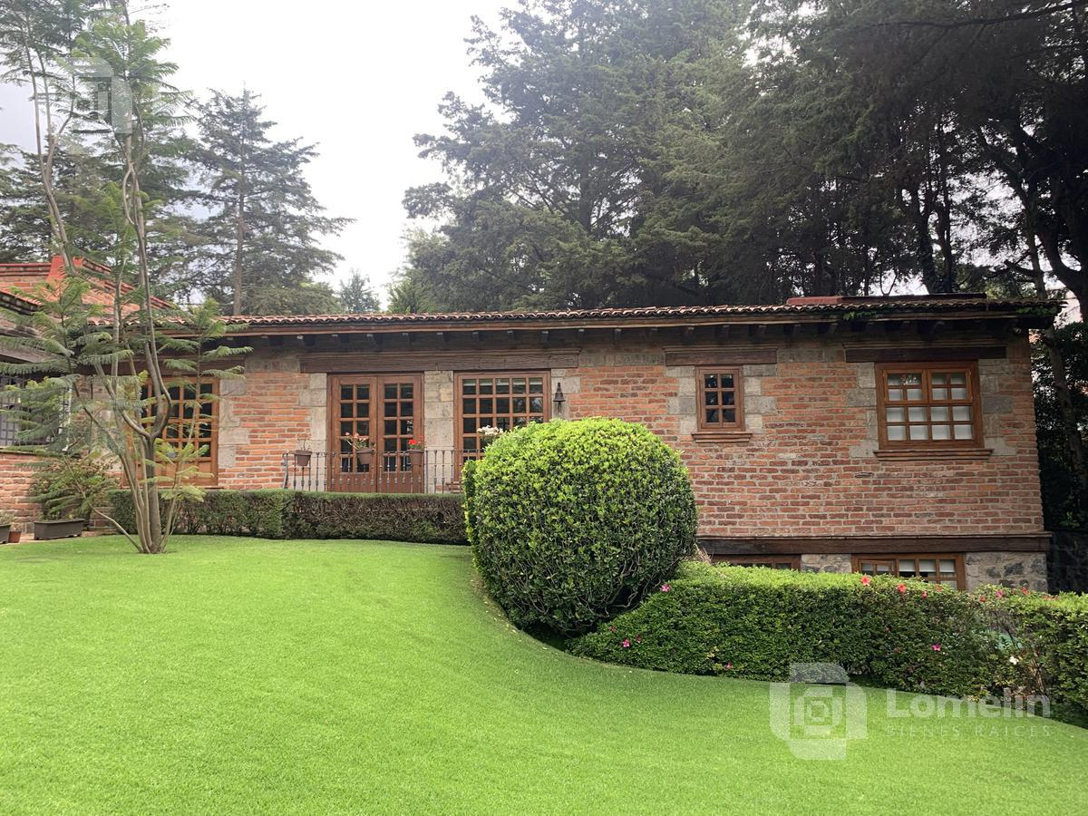 Foto Casa en Venta | Renta en  San Bartolo Ameyalco,  Alvaro Obregón  RANCHO SAN FRANCISCO - HERMOSA CASA CON  JARDÍN ESPECTACULAR