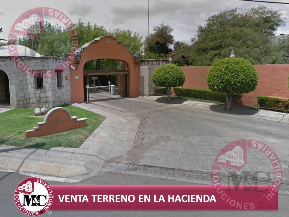 Foto Terreno en Venta en  Condominio La Hacienda,  Aguascalientes  MC VENDE TERRENO EN CONDOMINIO LA HACIENDA