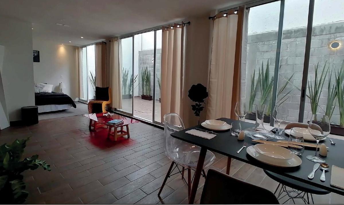 Foto Departamento en Venta en  Santa Maria La Ribera,  Cuauhtémoc  Santa Maria La Ribera, departamento 102 interior nuevo a la venta en calle Trebol (LD)