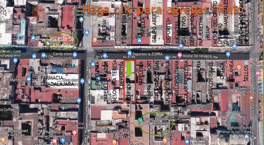 Foto Oficina en Venta en  Centro,  Puebla  Edificio en Venta en centro historico