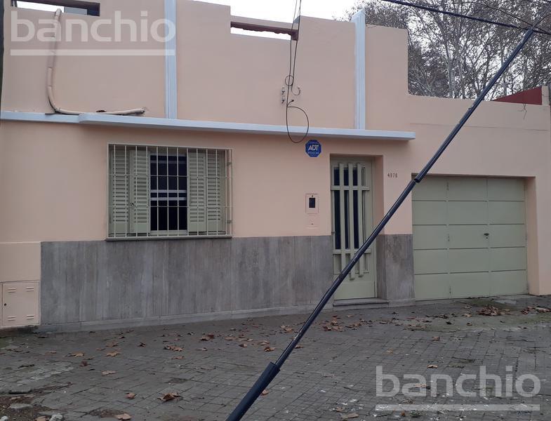 RIOJA al 4900, Rosario, Santa Fe. Alquiler de Casas - Banchio Propiedades. Inmobiliaria en Rosario