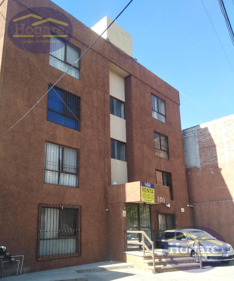 Departamento Renta Excelente ubicación Los Paraísos incluye Agua Internet León Gto