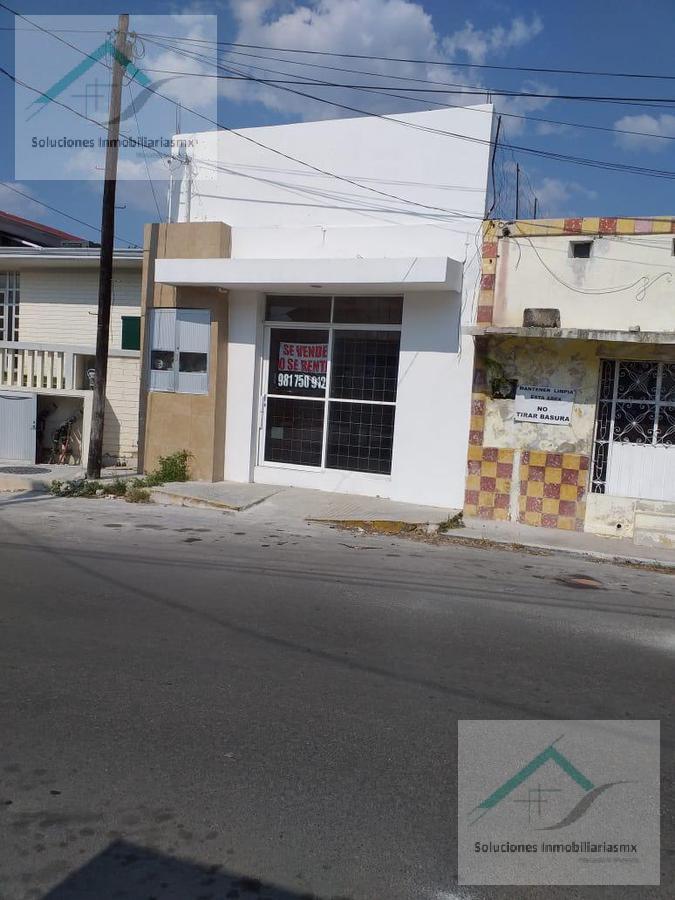 Foto Local en Renta en  Barrio Guadalupe,  Campeche  Venta o Renta Local en el Centro Historico.