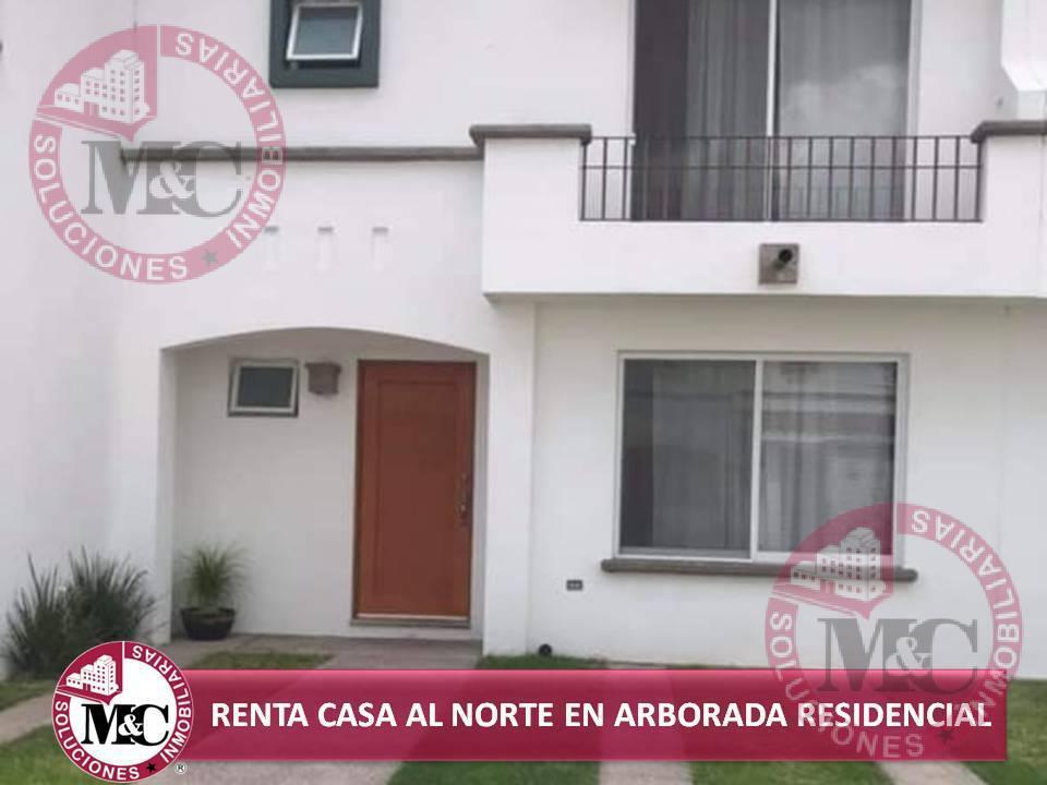 Foto Casa en Renta en  Fraccionamiento La Arborada,  Jesús María          CASA EN RENTA AMUEBLADA AL NORTE EN ARBORADA RESIDENCIAL AL NORTE EN AGUASCALIENTES