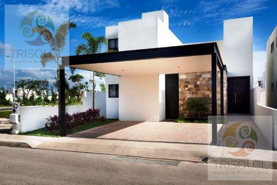 Foto Casa en Venta en  Pueblo Conkal,  Conkal  Casa en venta Av. Conkal (Mod Kiina),Mérida Yucatán