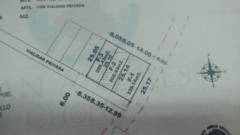 Foto Terreno en Venta en  Fraccionamiento Lomas de  Angelópolis,  San Andrés Cholula  Terreno de 400 m2 en Venta en Calle Santana No. 6248, enfrente de Lomas de Angelópolis