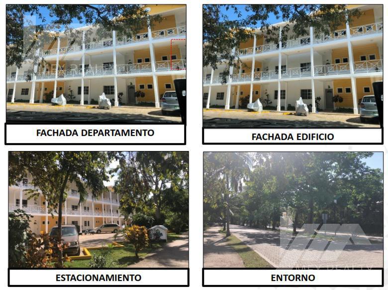 Foto Departamento en Venta en  Playacar,  Solidaridad   CLAVE 61392, PRIVADA GREEN VILLAGE, NUMERO 208 B, PLAYACAR, SOLIDARIDAD PLAYA DEL CARMEN, Q. ROO, CESIÓN DE DERECHOS ADJUDICATARIOS SIN POSESIÓN, $2,507,100.00 CONTADO MUY NEGOCIABLE