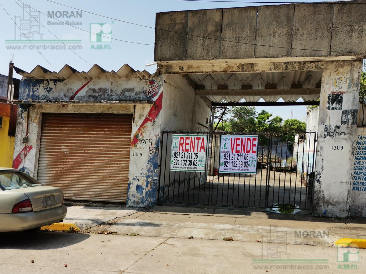 Foto Terreno en Renta | Venta en  Coatzacoalcos Centro,  Coatzacoalcos  Av. Revolución No. 1309, Zona Centro, Coatzacoalcos, Ver.
