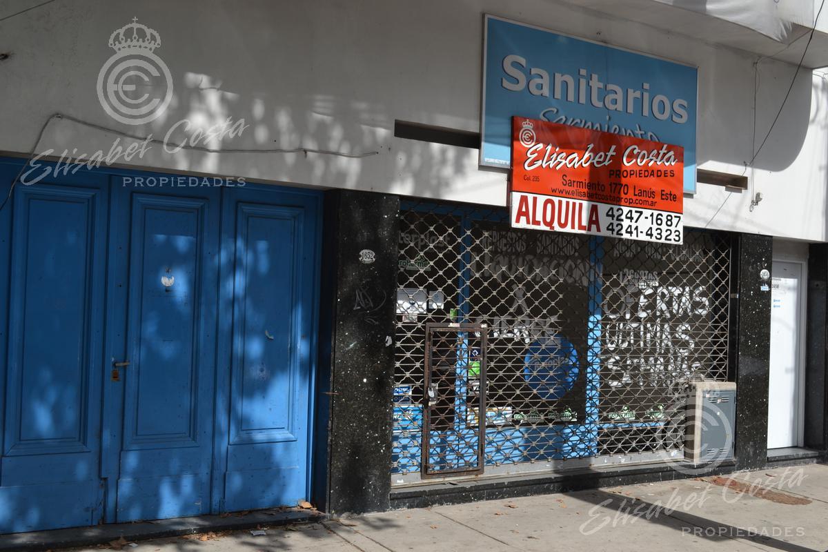 Foto Local en Alquiler en  Lanús Este,  Lanús  Sarmiento al 1600
