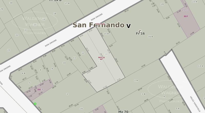Foto Terreno en Venta en  Victoria,  San Fernando  Don Orione 1000