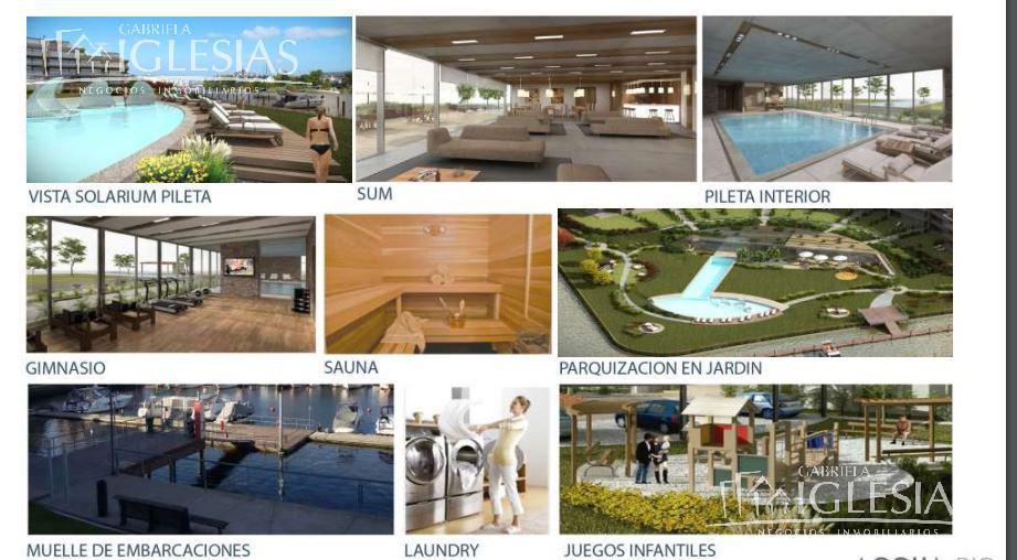 Departamento en Venta  en Nordelta Islas del Canal Aqua Rio