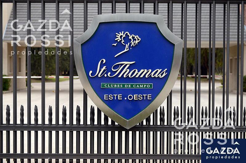 Foto Terreno en Venta en  Saint Thomas,  Countries/B.Cerrado (E. Echeverría)  Excelente doble lote en Saint Thomas Oeste