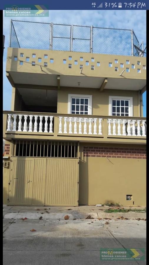 Foto Casa en Venta en  Coatzacoalcos ,  Veracruz  CASA EN CIUDAD OLMECA LADO RIO