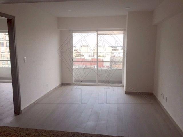 Foto Departamento en Renta en  Benito Juárez ,  Distrito Federal  Col. Portales, departamento con BALCÓN a la renta en Calzada de Tlalpan (LG)