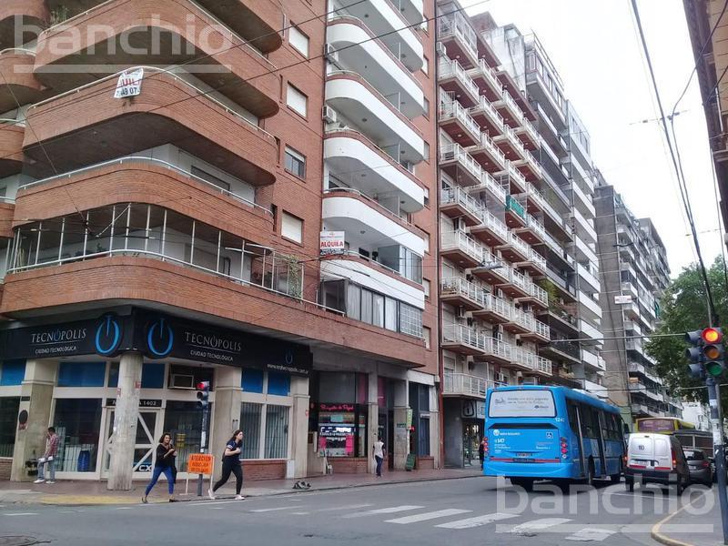 CORRIENTES al 1100, Rosario, Santa Fe. Alquiler de Departamentos - Banchio Propiedades. Inmobiliaria en Rosario