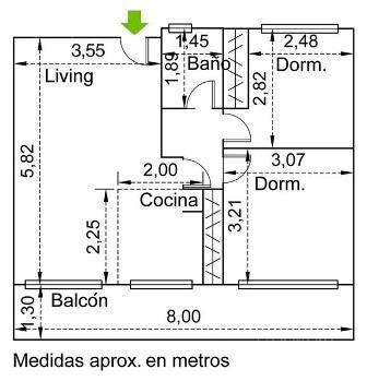 Foto Departamento en Venta en  Parque Chas,  Villa Urquiza  Gamarra al 1400