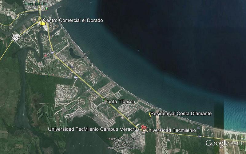 Foto Terreno en Venta en  Fraccionamiento Costa Diamante,  Alvarado  Terrenos Residenciales en Costa Diamante (Riviera Veracruzana)
