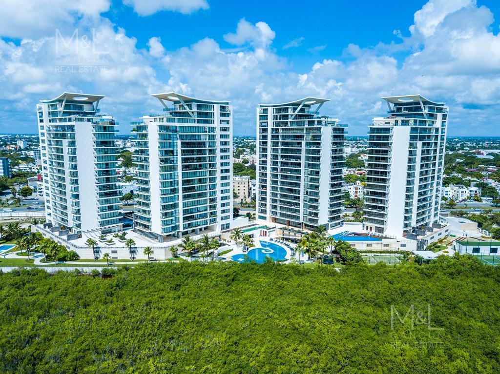 Foto Departamento en Venta en  Puerto Cancún,  Cancún  Departamento en venta en Cancún,  Be Towers, de Lujo,  4 recámaras,  315 m2, Puerto Cancún