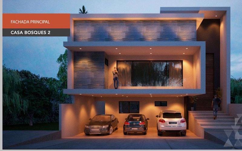 Foto Casa en Venta en  Bosques del Refugio,  León  Casa de 3 niveles nueva con alberca
