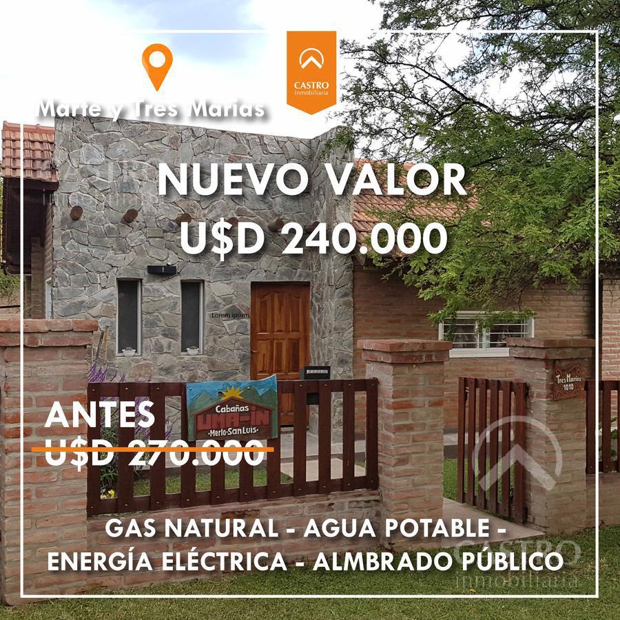 Foto Casa en Venta en  Los Estribos,  Merlo  Marte y Tres Marias