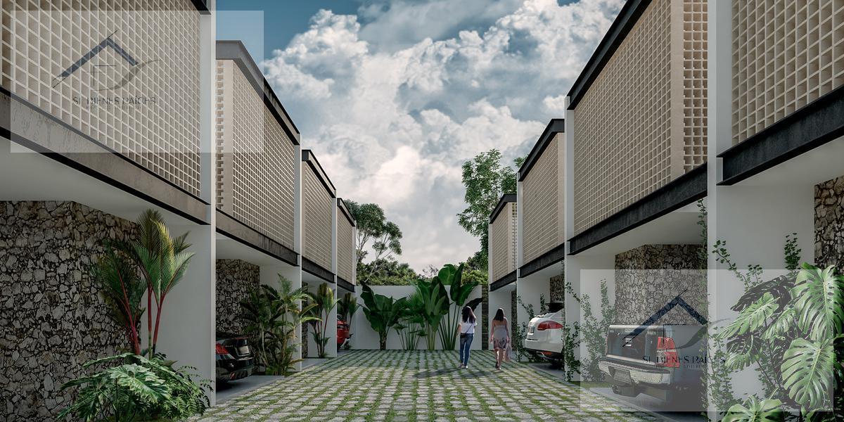 Foto Departamento en Venta    en  Temozon Norte,  Mérida  Los Balches Town Houses Temozon cerca de la U. Marista venta