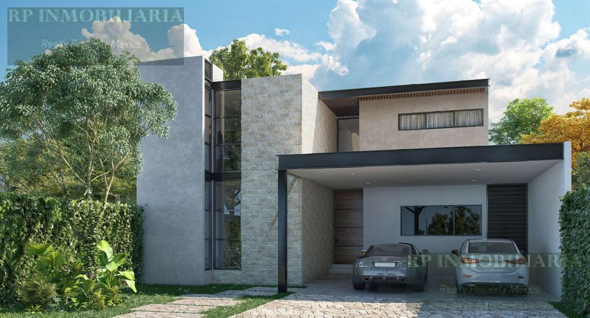Foto Casa en condominio en Venta en  Temozon Norte,  Mérida  Casa en venta de cuatro recámaras, en Temozón Norte al norte de Mérida PRIVADA NOVARA TEMOZON