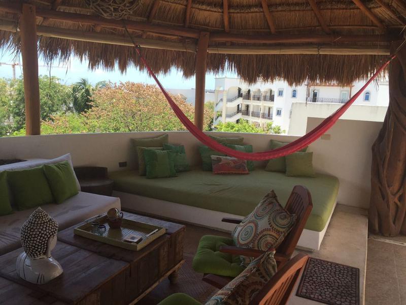 Foto Departamento en Venta en  Playa del Carmen ,  Quintana Roo  5ta AVE PENTHOUSE 2 REC Y SOLARIUM