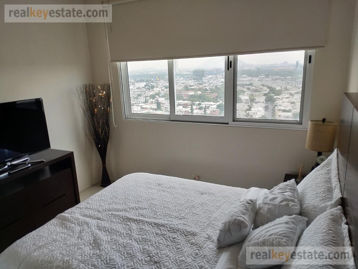 Foto Departamento en Renta en  Ladrillera,  Monterrey  Departamento amueblado en Torre Iconos