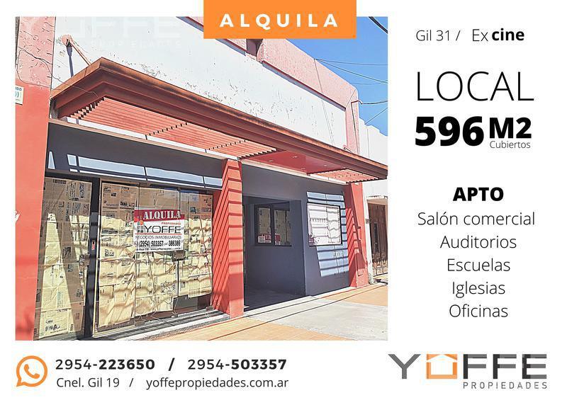 Foto Local Comercial en Alquiler en  Centro,  Santa Rosa  Centro