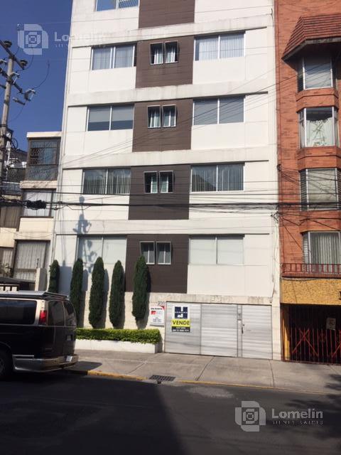 Foto Departamento en Renta en  Piedad Narvarte,  Benito Juárez  Pitagoras 214-201