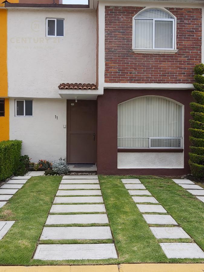 Foto Casa en condominio en Venta en  San Luis Mextepec,  Zinacantepec  CASA EN VENTA EN  FRACCIONAMIENTO EL PORVENIR ZINACANTEPEC