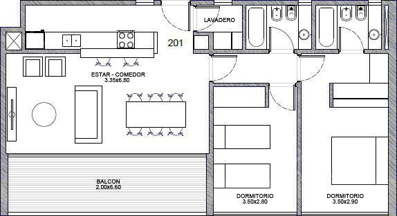 Foto Departamento en Venta en  Saavedra ,  Capital Federal  Melian 3958 201