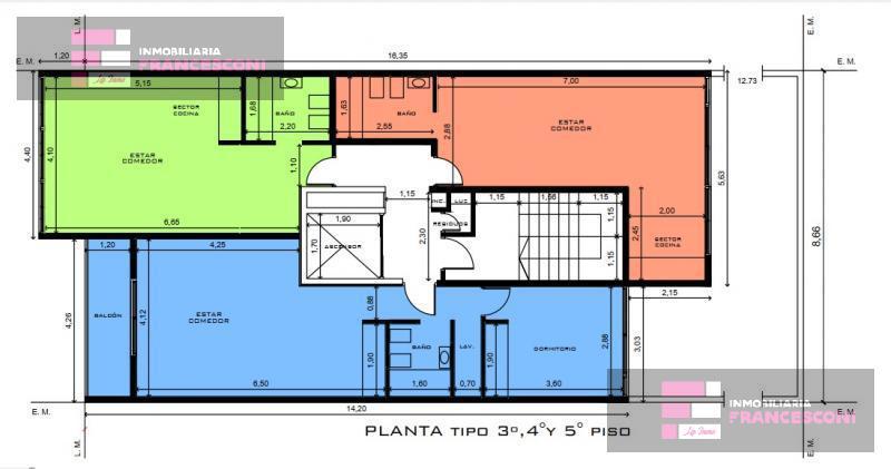 Foto Departamento en Venta en  La Plata,  La Plata  7 71 y 72
