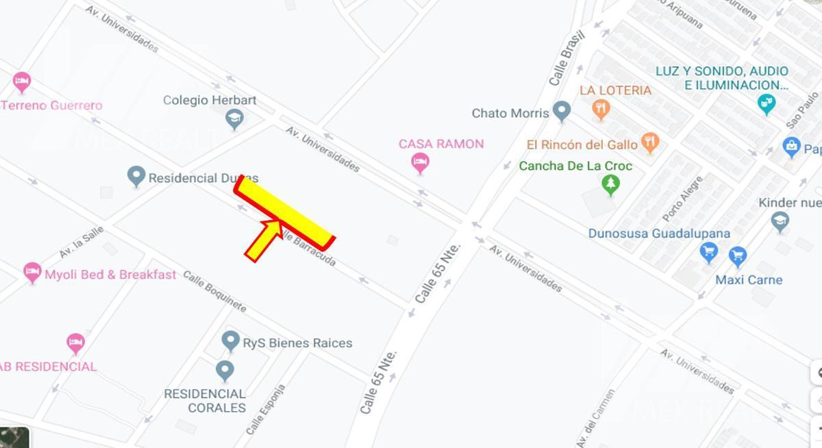 Foto Terreno en Venta en  Solidaridad ,  Quintana Roo  Terreno en Venta, Fracc. Arrecifes, Mz 7, Lote 9, 10, 11 y 12, Playa del Carmen, Q. Roo, Clave CLAU18