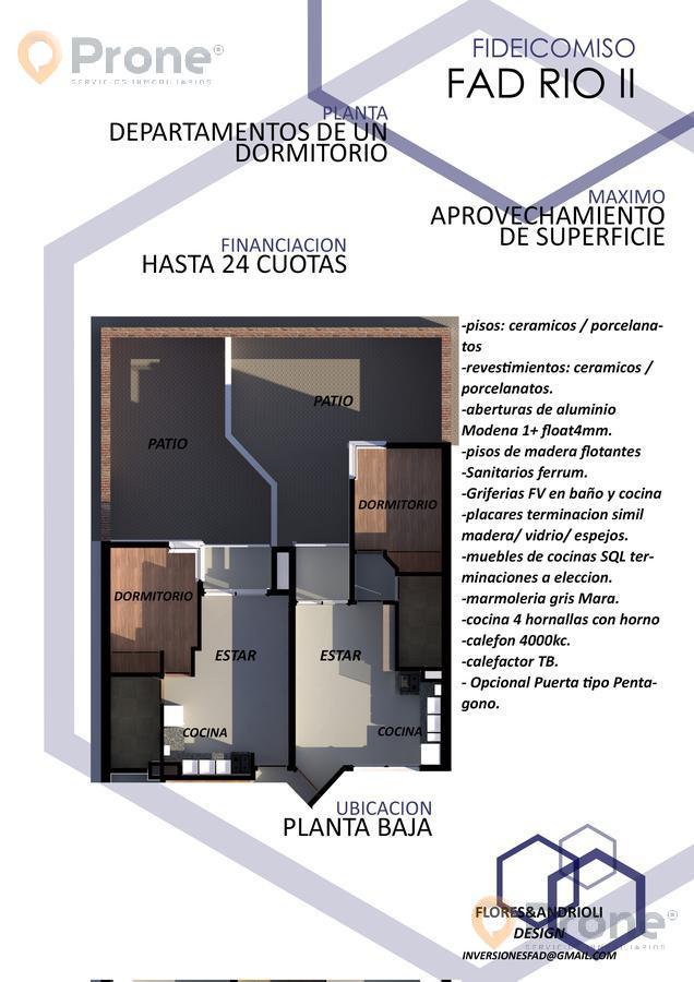 Foto Departamento en Venta en  Echesortu,  Rosario  Río de Janeiro al 800 01-03