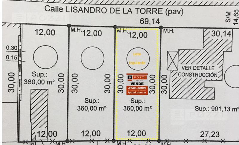 Foto Terreno en Venta en  Don Torcuato,  Tigre  Av. Boulogne Sur Mer al 2300