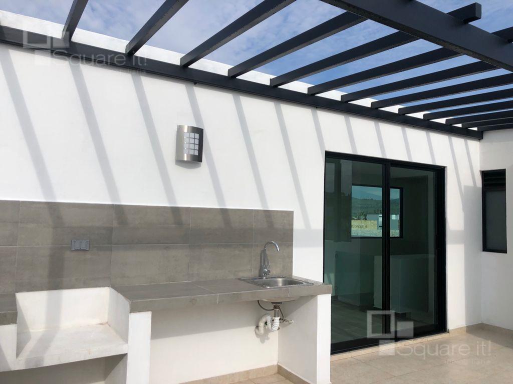 Foto Casa en Venta en  Fraccionamiento Lomas de  Angelópolis,  San Andrés Cholula  Santorini 27, Casa en Venta en Parque Mediterráneo, Lomas de Angelópolis III