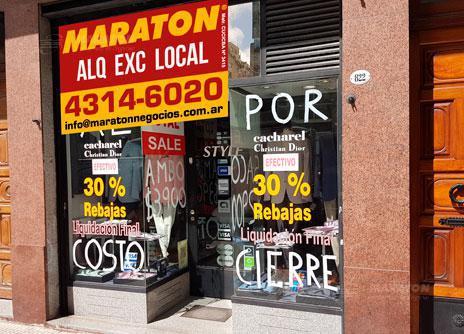 Foto Local en Alquiler en  Centro ,  Capital Federal  Paraguay al 800