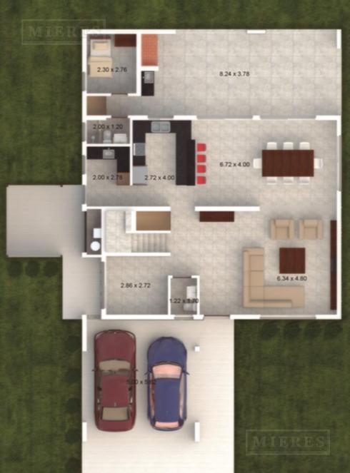 Mieres Propiedades - Casa de 274 mts - Campo Grande