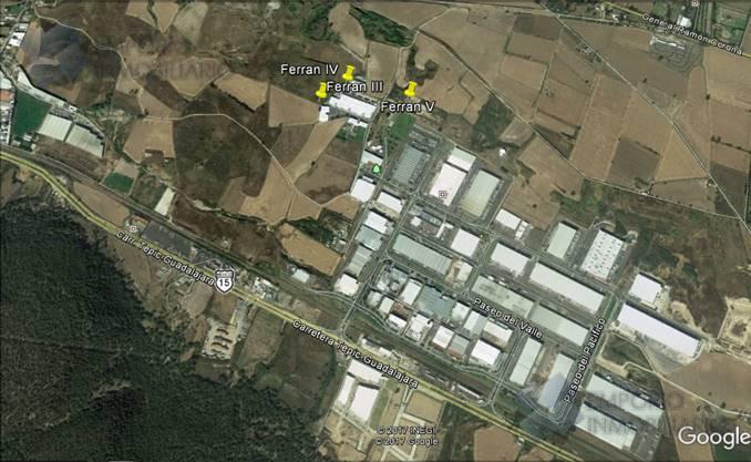 Foto Bodega en Renta en  Rancho o rancheria Rancho Contento,  Zapopan  Bodega Industrial Renta Ferran V $95,000 Fralob E1
