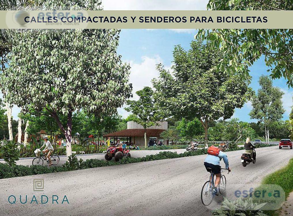 Foto Terreno en Venta en  Pueblo Sierra Papacal,  Mérida  Quadra, lotes 100 % Urbanizados, A 20 minutos de Merida adquierelo a meses sin intereses