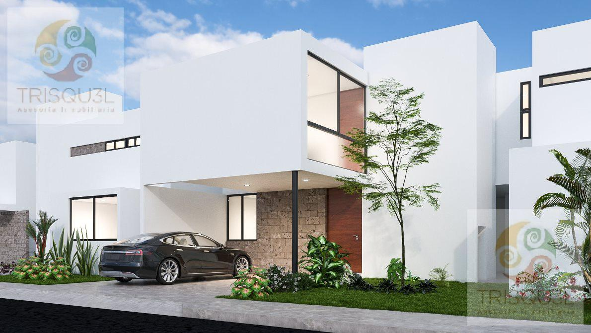 Foto Casa en condominio en Venta en  Conkal ,  Yucatán  Privada Otavia casa en Venta (Mod.170) Conkal,Mérida Yucatán