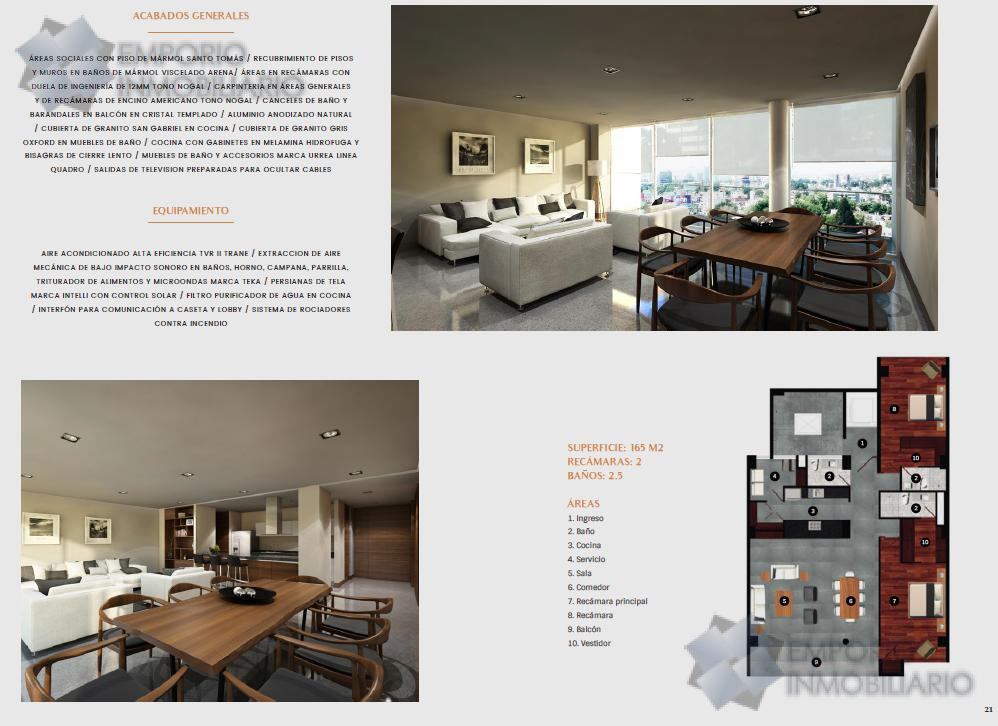 Foto Departamento en Venta en  Lafayette,  Guadalajara  Departamento Venta Oliva Residence -B $6,354,000 A386 E2
