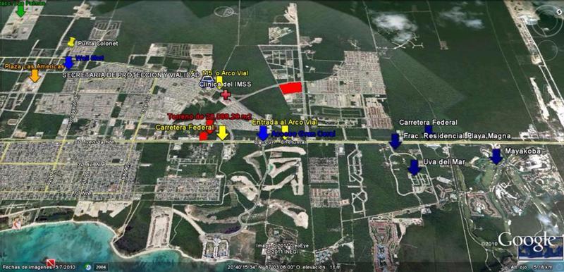 Foto Terreno en Venta en  Solidaridad ,  Quintana Roo  Excelente oportunidad terrenos residenciales Arrecifes