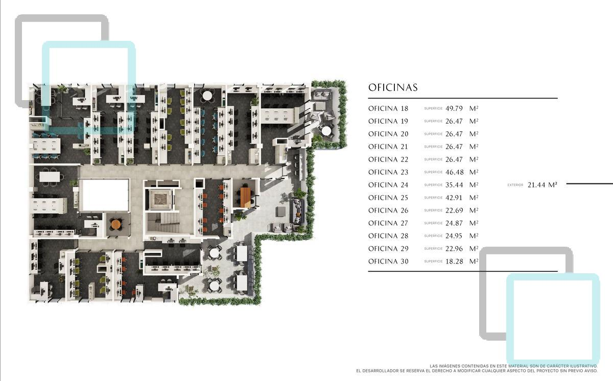 Foto Oficina en Venta en  Roma,  Monterrey  Paragon. Oficina 14 - Nivel 5, Calle 2 de Abril. Col. Roma Zona Monterrey Sur