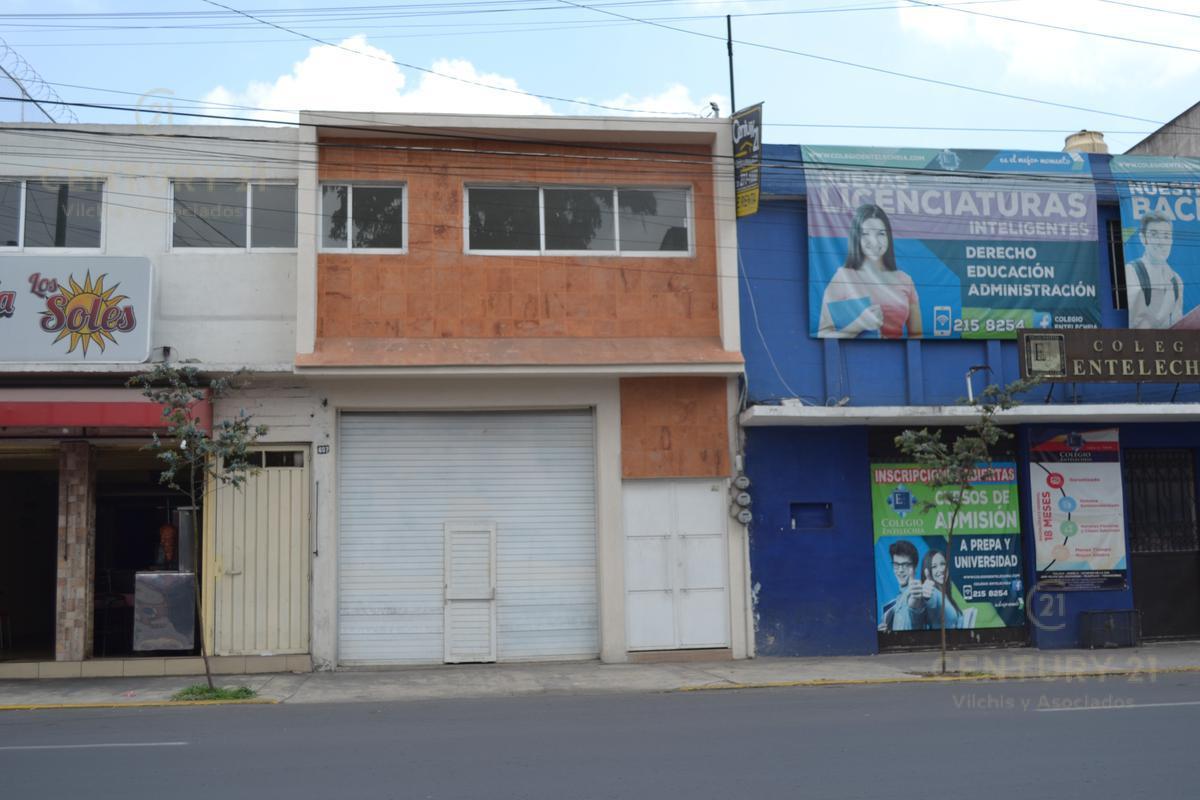 Foto Local en Renta en  5 de Mayo,  Toluca  LOCAL COMERCIAL Y OFICINA SOBRE AVENIDA MORELOS EN TOLUCA