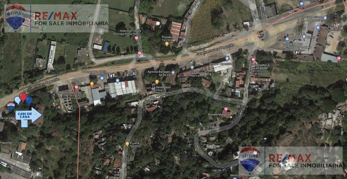 Foto Terreno en Venta en  El Tesoro,  Tepoztlán  Terreno plano en Tepoztlán, Morelos…Clave 3591