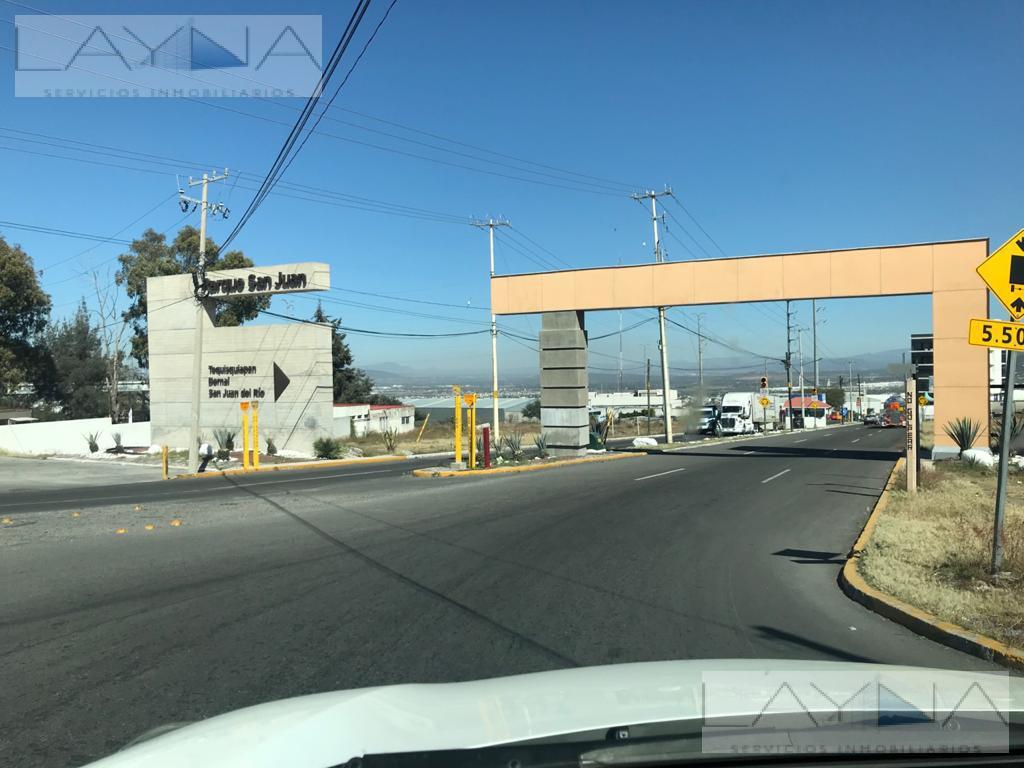 Foto Terreno en Venta en  Parque industrial Nuevo San Juan,  San Juan del Río  Parque Industrial Nuevo San Juan, San Juan del Rio, Querétaro, C. P. 76806