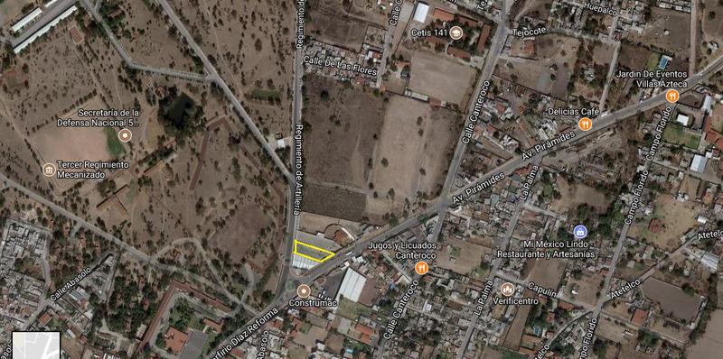 Foto Terreno en Venta | Renta en  San Juan Teotihuacan de Arista,  Teotihuacán  TERRENO EN TEOTIHUACAN, EDO. DE MEXICO.