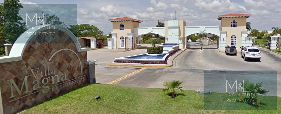 Foto Casa en Venta en  Benito Juárez ,  Quintana Roo  Casa en  Venta VILLA MAGNA Residencia de 3 recámaras,  estudio y alberca, Supermanzana 310  Cancún, Quintana Roo